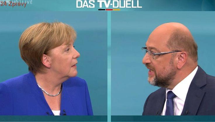 Islám patří k Německu, prohlásila Merkelová obhajovala migrační politiku v předvolebním duelu