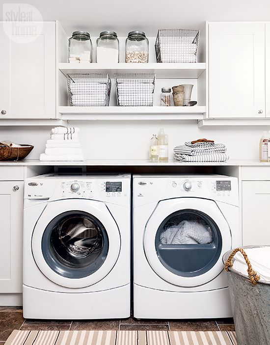 17 Best Ideas About White Laundry Rooms On Pinterest