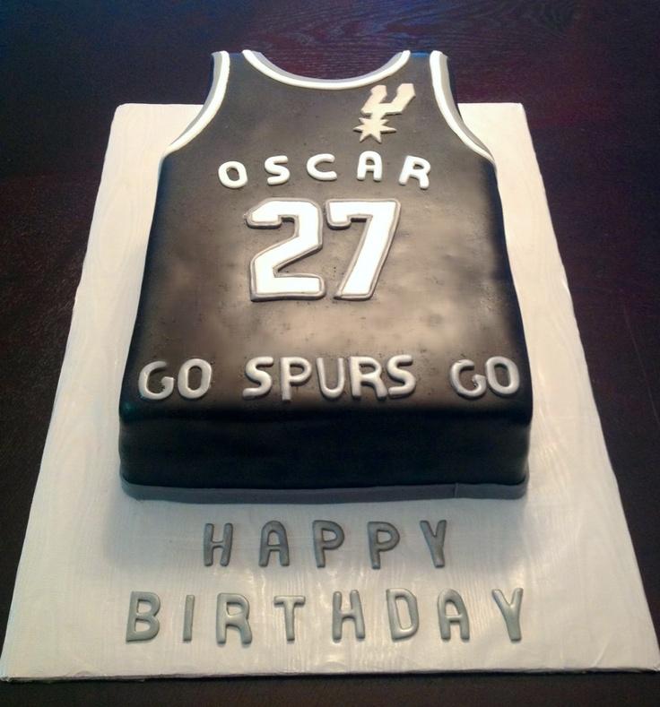 San Antonio Spurs Jersey Cake