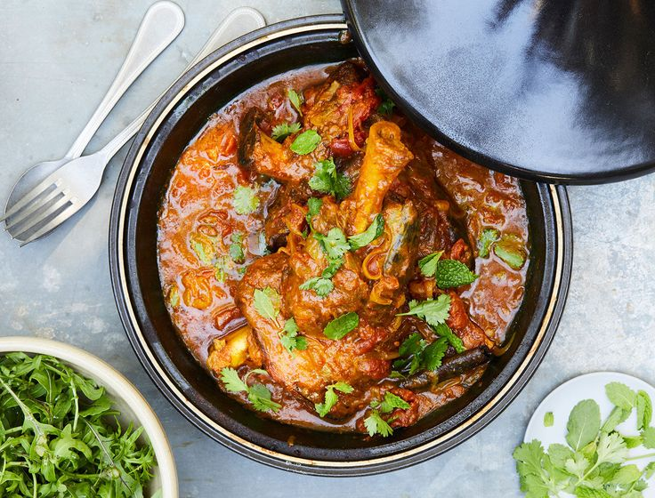 This aromatic dish will be the star of your dinner party. We love using lamb shanks since the bones lend so much depth of flavor to the sauce, but if you can't find them, you can use lamb stew meat. Just cook it low and slow so the meat becomes tender and the flavors of the sauce meld to become super concentrated.