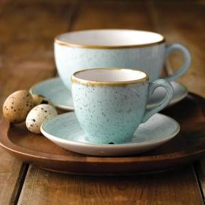 Churchill Stonecast Duck Egg Cup u0026 Saucer & 20 best Rustic crockery images on Pinterest | Churchill Catering ...