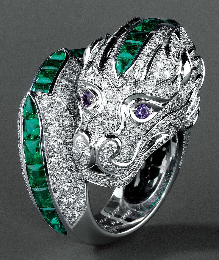 H & D Diamonds is your direct contact to diamond trade suppliers, a Bond Street jeweller and a team of designers.www.handddiamonds... Tel: 0845 600 5557 - Cartier chimera ring.