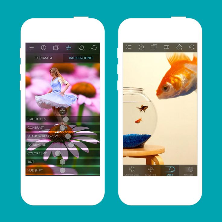 This photo layering app is a must-download.
