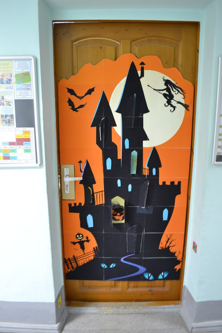 21 best halloween decorations images on Pinterest Halloween - pinterest halloween door decor