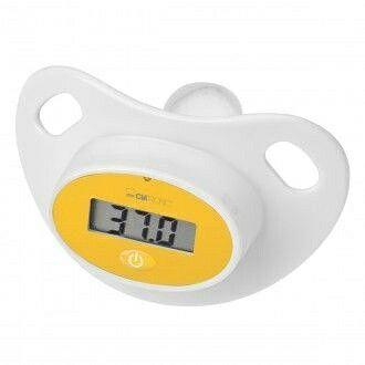Controla la temperatura de tu bebé fácilmente con este magnífico Termómetro chupete CLATRONIC FT3618 digital por 8,95 euros en #Crilanda