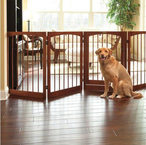 DIY Free-Standing Pet Gate