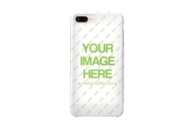 Download A Simple Iphone Cover Case Mockup Generator The Backside Of A White Iphone Ready For Your Own Cover Design Genera Iphone Case Covers Mockup Generator Iphone
