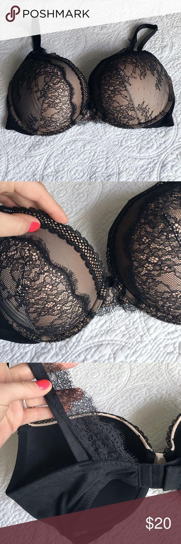 Victoria's Secret 36DD bra NWOT! Very Sexy push-up bra.  Gorgeous lace detailing, especially on back straps! Victoria's Secret Intimates & Sleepwear Bras