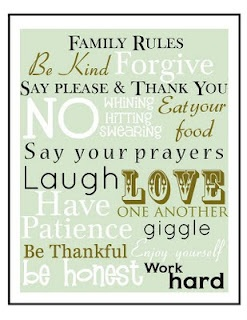 DIY : Free Printable Subway Art: Ideas, Signs, Subway Art, Quote, Families Rules Printable, Free Printable, Houses Rules, The Rules, Family Rules
