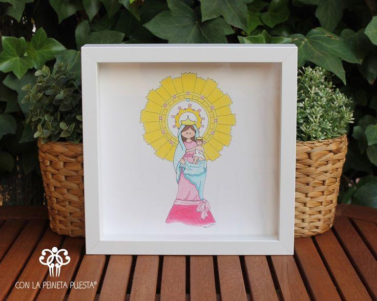 Cuadro Infantil de la Virgen del Pilar!