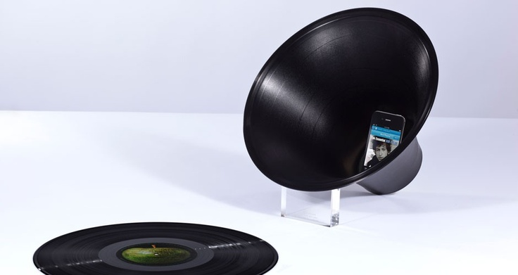 Change the Record iPhone Amplifier by Paul Cocksedge | MONOQI