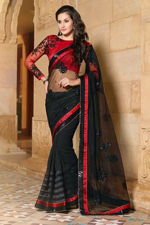 #designer #sarees @ http://zohraa.com/black-bemberg-saree- z3001p1070-8.html #designersaree #celebrity #zohraa #onlineshop #womensfashion #womenswear #bollywood #look #diva #party #shopping #online #beautiful #beauty #glam #shoppingonline #styles #stylish #model #fashionista #women #lifestyle #fashion #original #products #saynotoreplicas