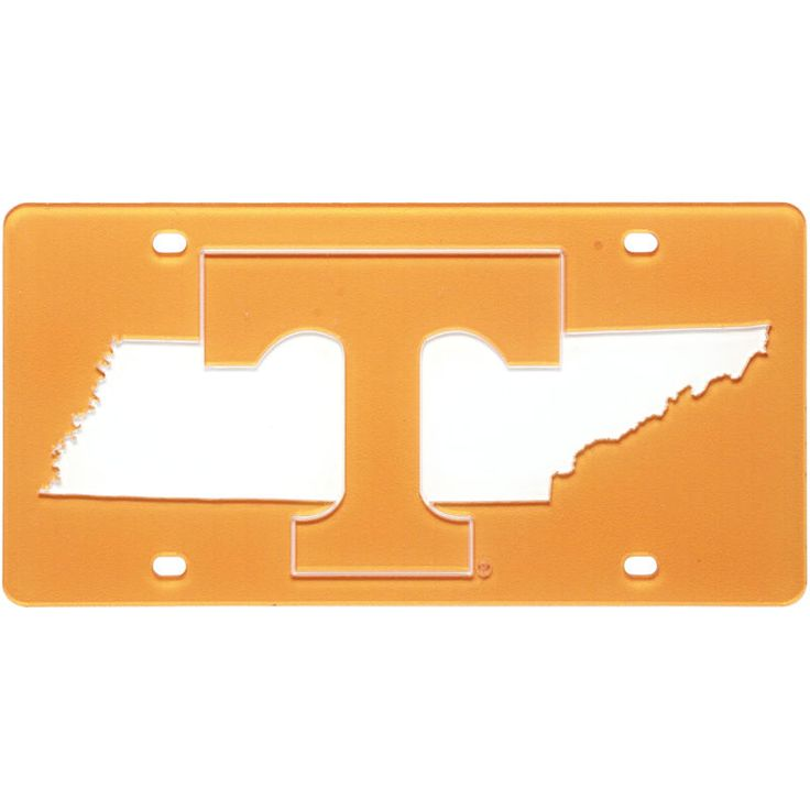 Tennessee Volunteers State Pride License Plate