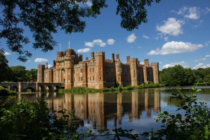 Herstmonceux Castle. Photo by Val Berbec