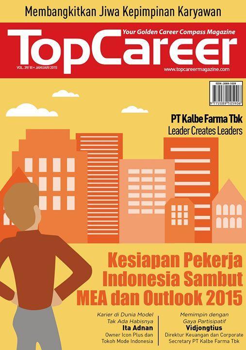 Cover Majalah Edisi 39 - Kesiapan Pekerja Indonesia Sambut MEA Dan Outlook 2015