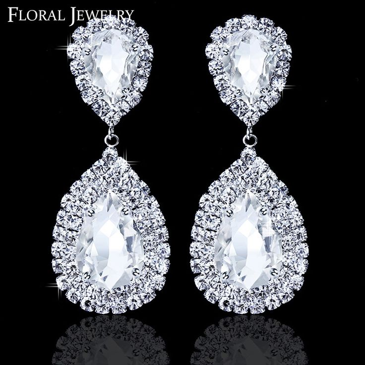 Cheap earrings rabbit, Buy Quality earrings prom directly from China earings big Suppliers:                          New Free Shipping LuxuriousTeardrop Crystal Earrings for Women Large Dangle  Bri