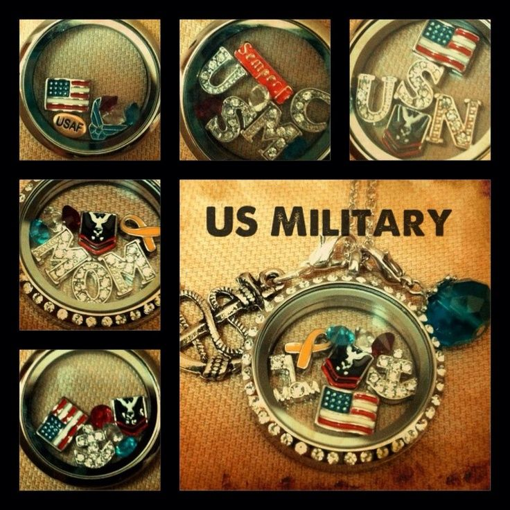 """Every Locket Tells A Story in Beaufort SC with Military Discount """" Imagine combining crafted lockets, coins and charms that show others what matters to you."""""""