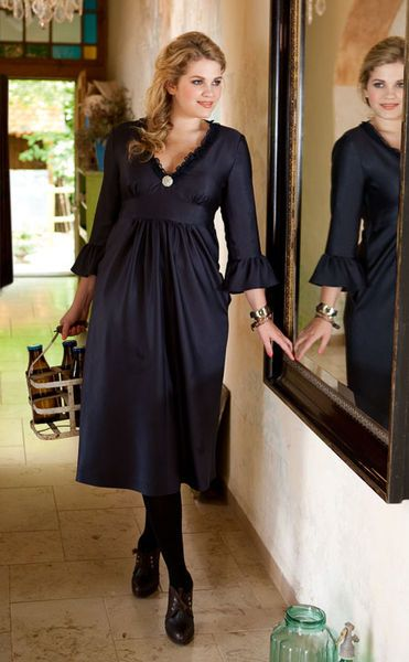 Платье - выкройка № 144 из журнала 9/2012 Burda – выкройки платьев на Burdastyle.ru