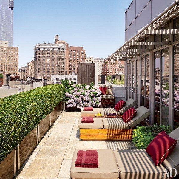 253 best images about outdoor spaces on pinterest garden sofa pools and new york penthouse Master bedroom with terrace