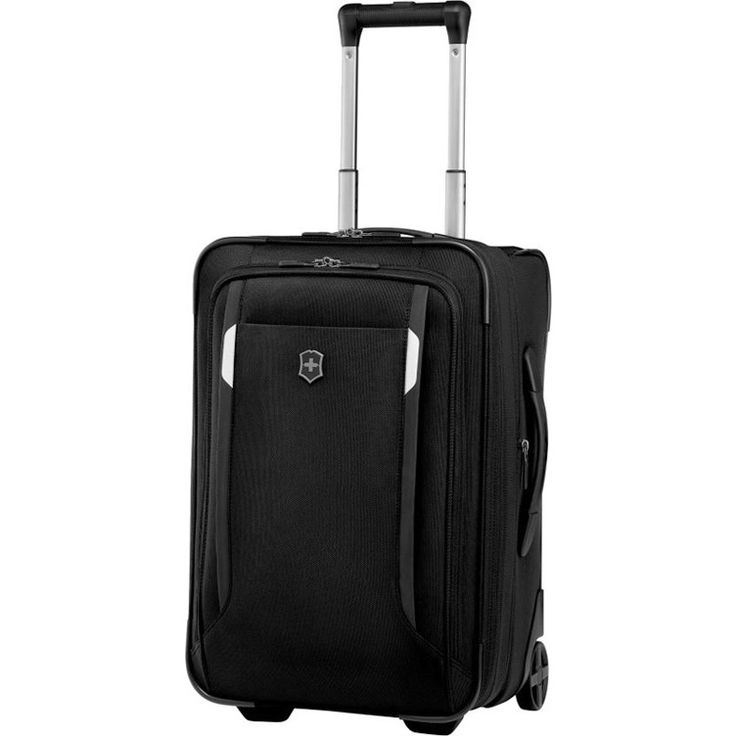 Victorinox Werks WT20 Carry on Suitcase Black 51cm | Buy Carry On Suitcases