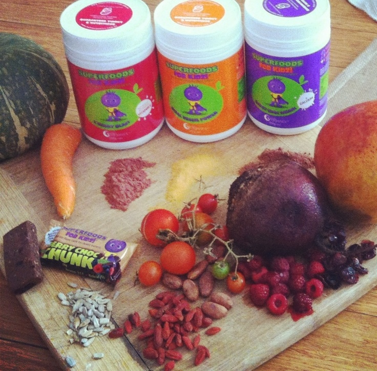 Superfoods for Kidz all natural whole foods www.nutraorganics.com.au