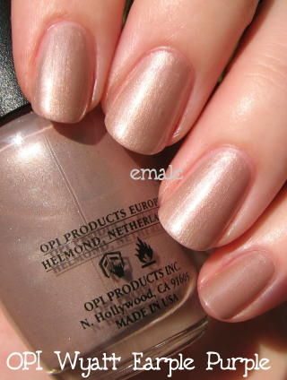 Perfect image of earple purple nail