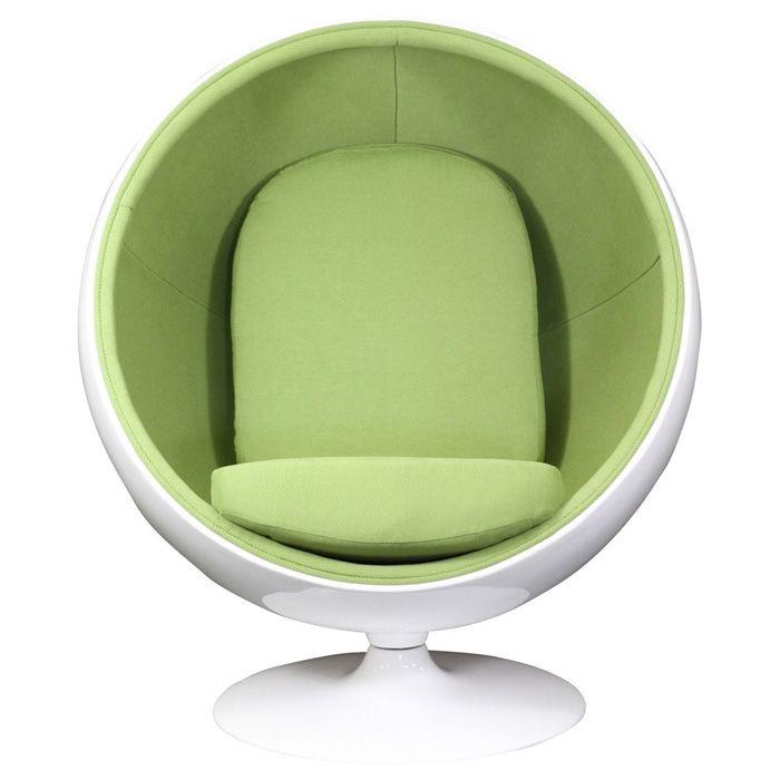 Eero Aarnio Style Kaddur Ball Chair