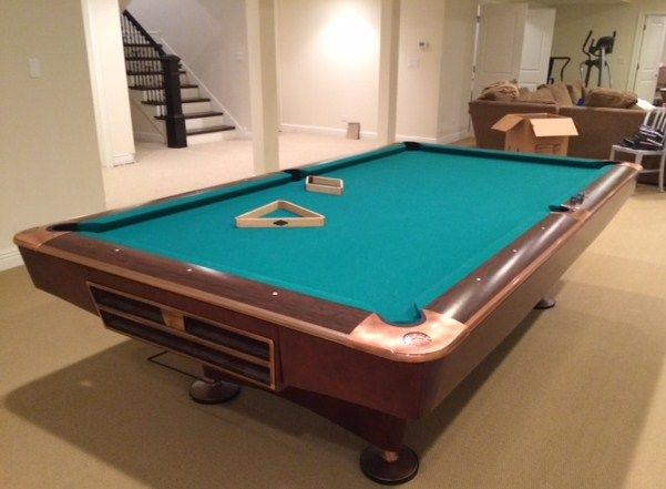 A15  Used Brunswick Gold Crown IV Pool Table, Mint Condition, A1 Like New condition. Available in our Pool Table Store Now. SOLD