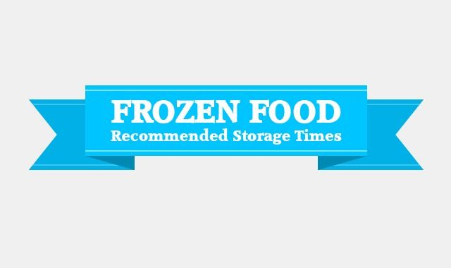 The following infographic on frozen food recommended storage times provides visual and numerical information about how long it is safe to store different types of food in the freezer. It works as a reminder of how long we can keep our meat, seafood, produce, dairy, beverages and some other types of food stored before its quality deteriorates. The infographic also includes information about which types of food do not freeze well, as well as tips on proper food packaging handling before…