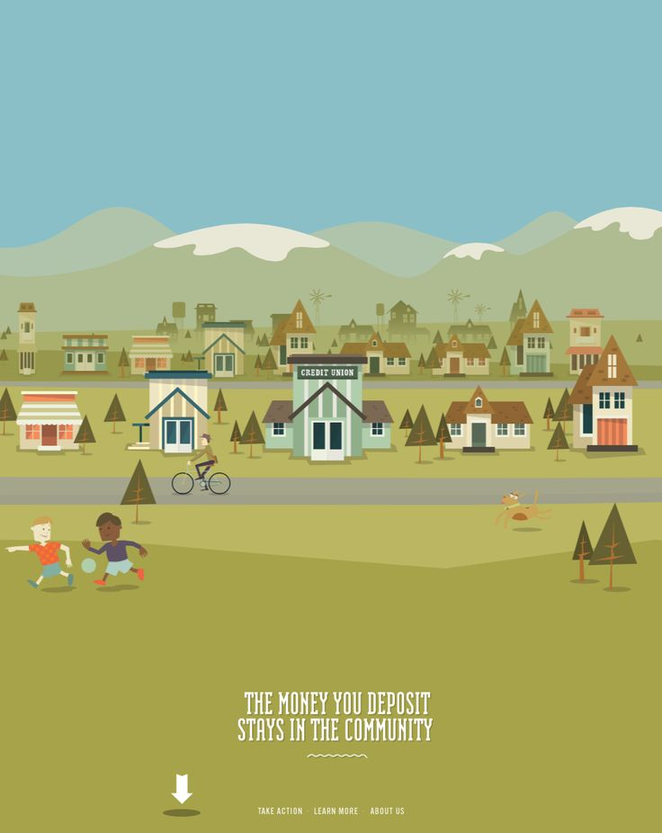 Awesome animated parallax site - very effective storytelling.   http://makeyourmoneymatter.org/