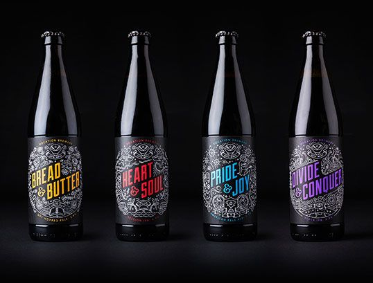 Vocation Brewery Packaging Design