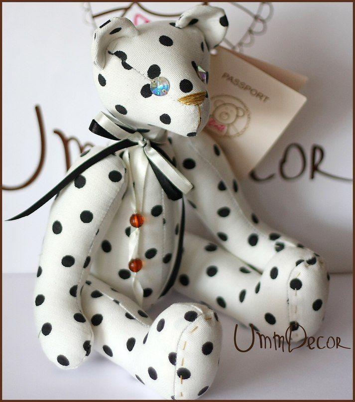 Decorative bear UMMDECOR Декоративный медведь