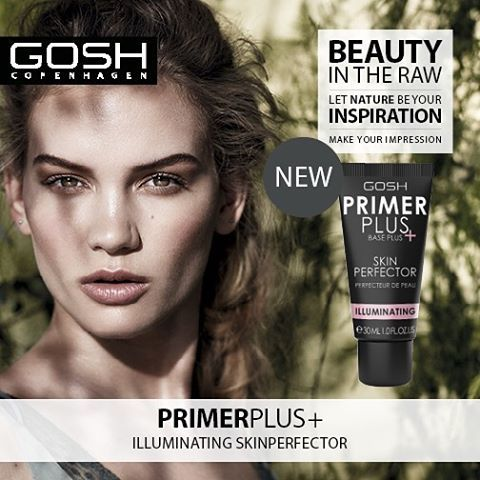 SS16 is all about dewy, natural looking skin and #BEAUTYINTHERAW Our new PrimerPlus+ Illuminating is a definite must-have for glow the go! Head over to our Facebook for another product launch! #GOSHCOPENHAGEN #GOSHSS16