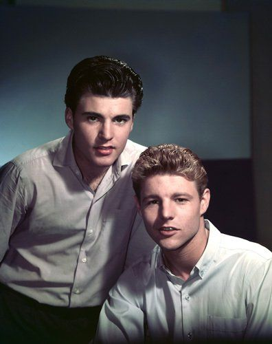 Ricky and David Nelson