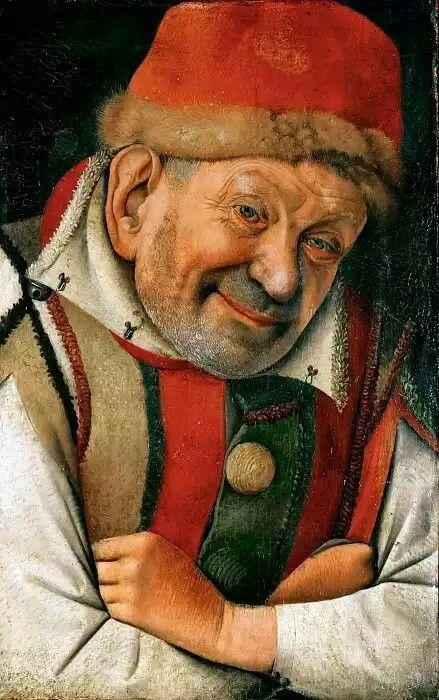 Музей истории искусств: Жан Фуке - Ганелла, шут герцога феррарского