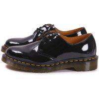 Soldes Dr Martens 1461 W vernis noire - Chaussures Toutes les baskets soldées - Chausport