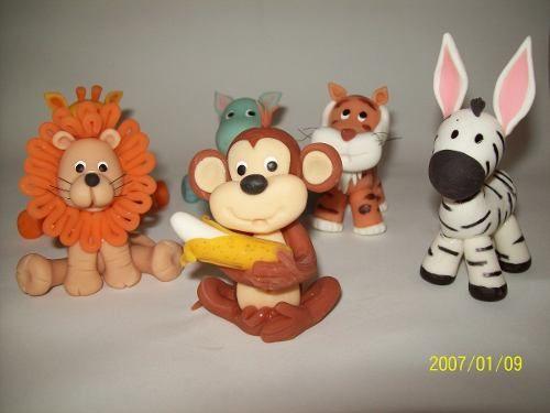 Animales de la selva porcelana fria - Imagui