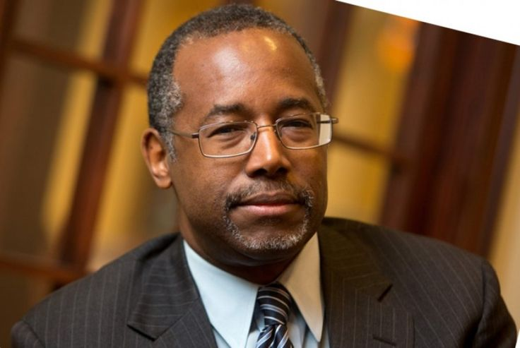 A photograph published on a Facebook page having title 'Fox News the FB Page' by a user, a former neurosurgeon candidate of Republican President for 2016, Dr. Ben Carson quoted from top to bottom and identified about the slavery benefits.