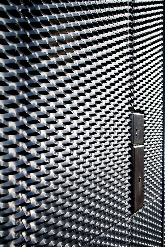 Museumplein, Amsterdam, The Netherlands, December 2013 - January 2014, Door near Stedelijk Museum