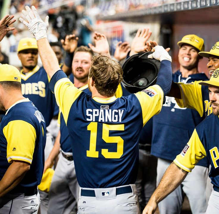 Cory Spangenberg for the San Diego Padres