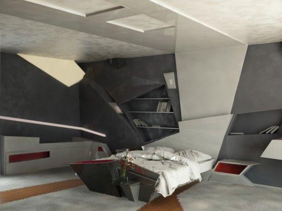 Inspiring Futuristic Interior Design 3