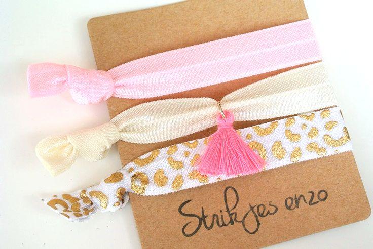 IBIZA elastiekjes. ruime keuze, shop online!  #ibizaelastiekjes #ibizastyle #pink #roze #luipaard #leopard #kids #loveit #summer #zomer #fashion #musthave #strikjesenzo