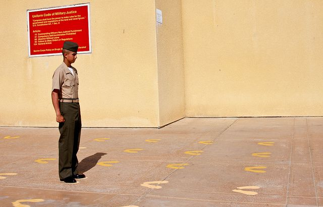 The Yellow Footprints  #mcrd #usmcMilitary Life 3 Milso, Footprints Mcrd, Yellow Footprints, Mcrd Usmc