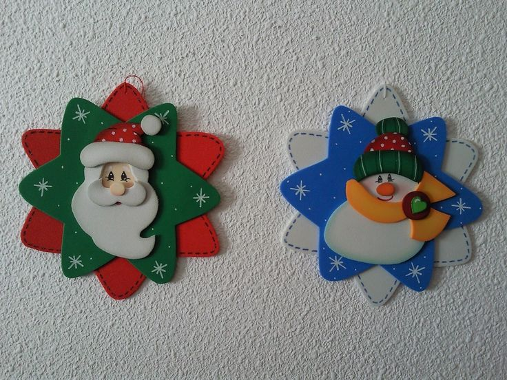 M s de 25 ideas incre bles sobre adornos navide os en for Figuras navidenas para decorar