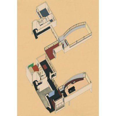FR, Paris, Maison La Roche. Le Corbusier, 1925.