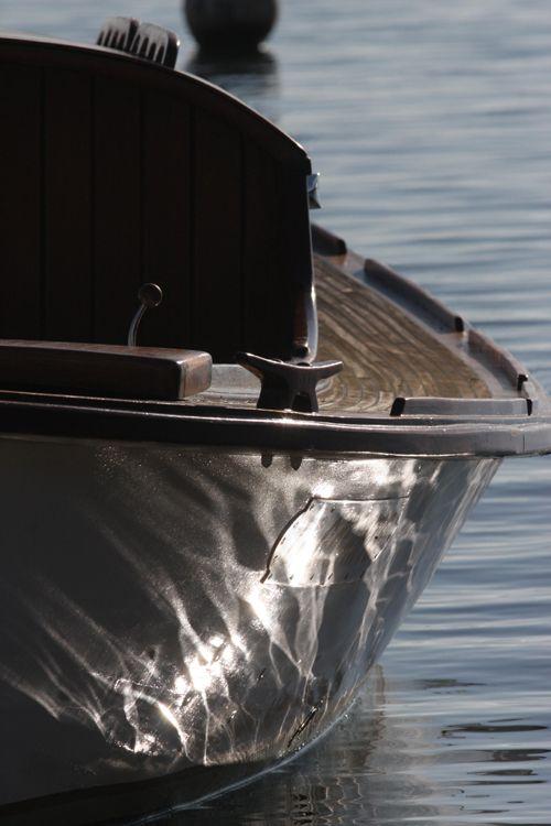 Pinasse, bateau traditionnel. Arcachon, France