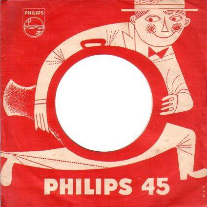 Dutch 45 record cover (50s).