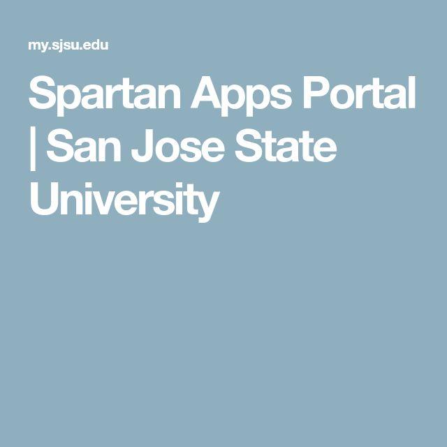 Spartan Apps Portal | San Jose State University