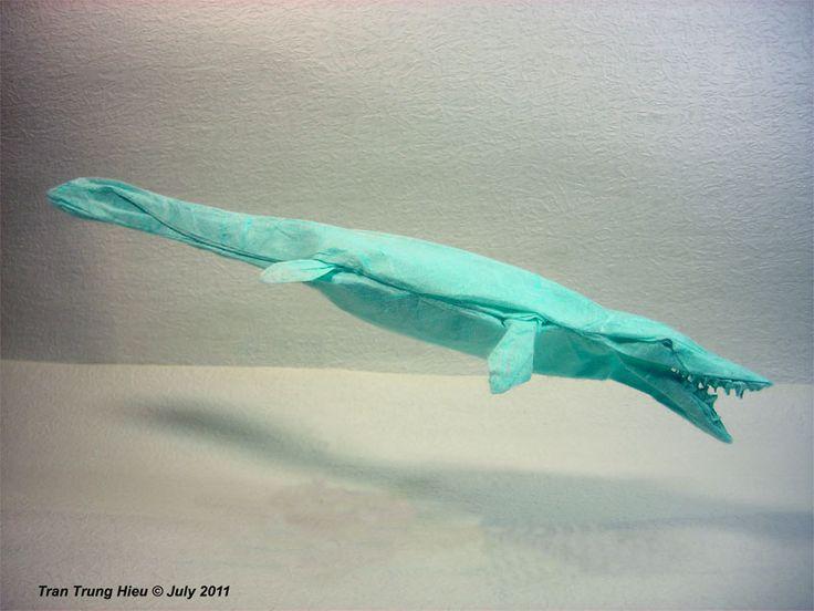 Origami Mosasaur
