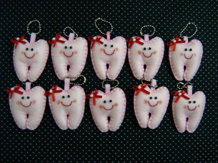 molde dentinho de feltro - Pesquisa Google